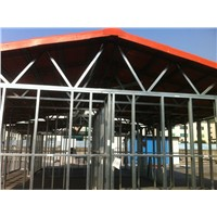 prefabricated house gable roof