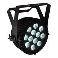 Slim LED PAR CAN STAGE LIGHT 6 IN 1 RGBWA UV POWERCON DMX (DashPAR 12Hex)