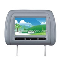 Touch button HD car headrest monitor with USB/SD/FM/IR (HY-769AV)