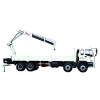 XCMG Knuckle Boom Truck Mounted Crane 10T For City Construction