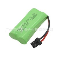 Wholesale NI-MH BT-1008  DC 2.4V 800MAH Cordless Phone Battery