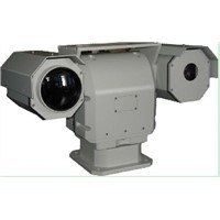 detect distance 5km to vehicle 1.8km to people PTZ Thermal Imager Camera
