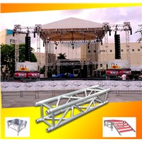 outdoor aluminum concert stage truss systemwith pa wings