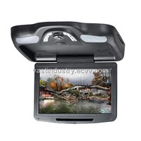"12"" Car Roof Mount Flip Down DVD Monitor with USB/SD/IR/FM Transmitter/Wireless Game(HY-1215)"