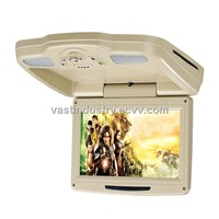 "9"" Car Roof Mount DVD Player with USB/SD/IR/FM Transmitter/Wireless Game(HY-918D)"
