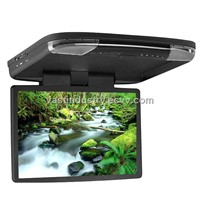 16.4 Car flip down Monitor with IR/FM/USB/SD/Gmae and MP5(HY-1655M)