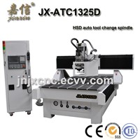 JIAXIN JX-ATC1325D Vacuum table design auto tool changer spindle CNC Router