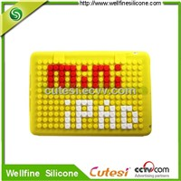 Fashion iPad mini cases, Lego blocks silicone case for Mini ipad factory supplier