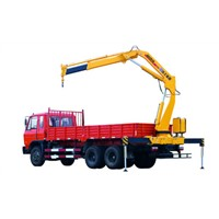 XCMG 5Ton Truck Mounted Crane SQ5ZK2Q, Lifting For Landscape Jobs