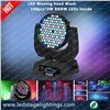 Stage Moving head wash light,108pcs*3W RGBW LED Moving light,Moving head