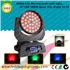 ZOOM LED Moving wash light,36*10W Quad LED stage light,professional stage lighting