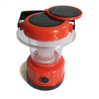 New Arrival Solar Camping Lantern 9pcs LED Solar Lamp  Adjustable Brightness Solar Light