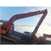 Hitachi used tire wheel digger/excavator (EX200LC)