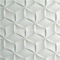 3D CNC White Limestone Wall Panel