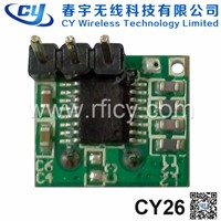 CY26 434MHz Ask RF Superheterodyne Wireless  Receiver Module