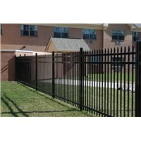 Heavy duty Crimp top security fence