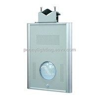 Lithium Battery Popular Design Integrated LED Light 8w New Model Solar Street Light