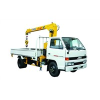 XCMG Light Raise and Down Telescopic Boom Truck Mounted Crane with 2.1Ton, 20L/min