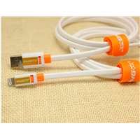 Wholesale flat two sided usb cable for iphone 5