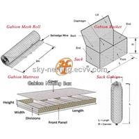 Wire Mesh box for stone Gabion series products