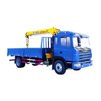 Durable Hydraulic Lifting Telescopic Boom Truck Mounted Crane, 4T Lorry-Mounted Crane SQ4SK3Q