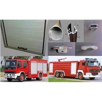 Fire Truck Roll up Door, Roller Shutter Door, Aluminum Shutter Door