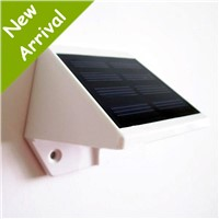 Solar Yard Light Sensor Technology Solar Lamp Warm and White Light Solar Wall- mounted Lamp