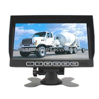 "touch button 7"" stand alone lcd monitor with 800x480 resolution 4 channels input (HY-790T)"