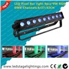 Pixel control LED Bar light 9pcs*9W Tri RGB LEDs,led disco light