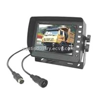 5.6inch car tft lcd monitor with 4 channels 640x480 resolution(HY-560)