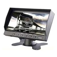 12V-32V 7inch  lcd monitor with 800x480 4 channels input (HY-790))