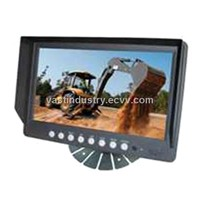"9"" digital lcd monitor with quad function 4 channels (HY-900)"