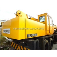 4 Booms TL300E Japan tadano TL300E Crane original spare parts and paint locate in shanghai yard