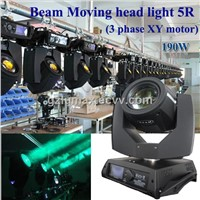 High Power 190w Beam Moving head light 5R(3 phase XY motor)