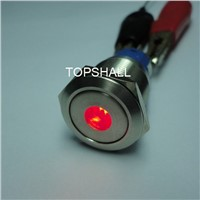 19mm 110v Illuminated Momentary and Self-Locking Motorcycle Push on Switch