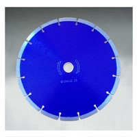 Diamond dry cutting blade