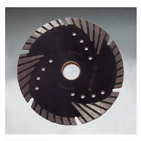 Protection teeth diamond saw blade