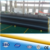 Yellow Waterproof Polyurethane Pre-fabricated Direct Buried Insulation Pipe For Heat Water