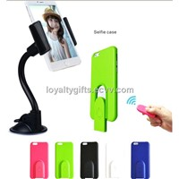 Selfie bluetooth remote shutter case For iPhone 6 plus Protector case