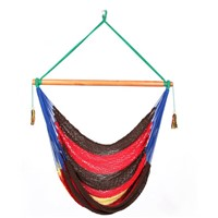 Outdoor Camping Single Person Hanging Rope Chair