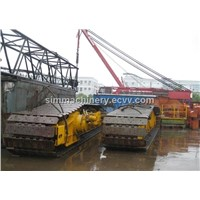 Germany made Demag 200t cralwer crane second hand demag 200t crawler crane used cralwer crane