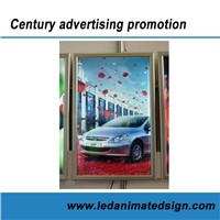 Double side advertising light box for indoor decoration