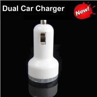 Dual USB Car Cigarette Powered Charger