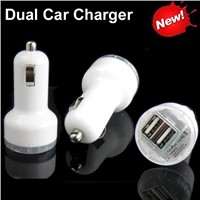 2015 Best selling electronic products 2.1A Portable Mobile Phone Dual USB Car Charger