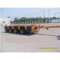 4 axles multi-axis heavy load hydraulic modular transporter/trailer