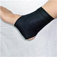 Tourmaline self heating ankle-pad protective function