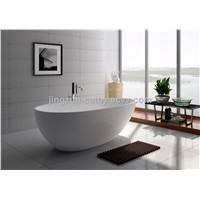 Jingzun Artificial Stone Bathtub Composite Resin Bathtub-JZ8608