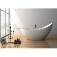 Jingzun Freestanding Bathtub Composite Resin Bathtub-JZ8621