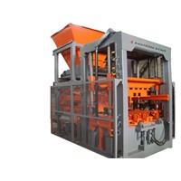 QFT12 fully-automatic concrete brick machine