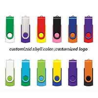 Promotional Durable Swivel USB Flash Drive, OEM Orders Welcomed, Plug-and-play Function